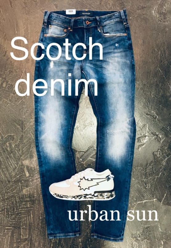 Scotch skinny denim